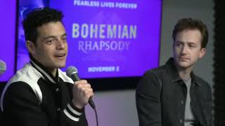 We're Live With the Cast of Bohemian Rhapsody
