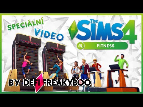 the sims 4 kolekce fitness youtube. Black Bedroom Furniture Sets. Home Design Ideas