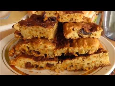 Рецепт  24 Морковная коврижка с корицей
