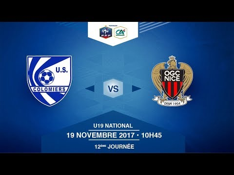 U19 NATIONAL - US Colomiers - OGC Nice - Dimanche 19/11/2017 à 10h45