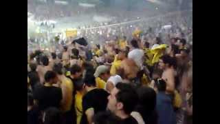 ORIGINAL21 BEST FANS IN THE WORLD (CRAZY AEK ATHENS FANS)