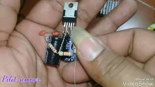 Tutorial 2 Power ampli ic Tda2050 ct12vol 32wat