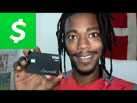 Activating The Cash Card From The Cash APP!