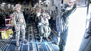 Paratroopers Drop In On White Sands • 82nd Airborne