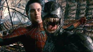 """Человек паук против Венома  (часть 1)- """"Человек-паук 3: Враг в отражении"""" отрывок из фильма"""