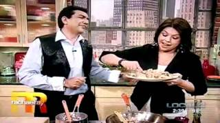 Sanjeev kapoor on Rachel Ray show