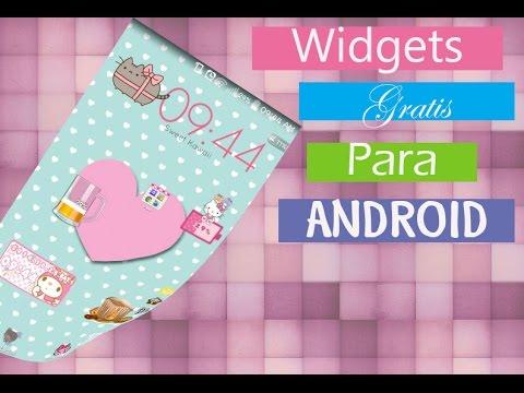 Widgets Gratis Kawaii  - ANDROID