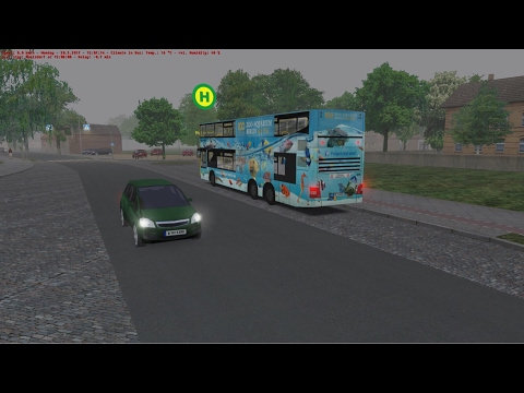 OMSI 2: Steam Edition - (X10 Berlin Bus Line) - To Postviertel/Paul-Lincke-Str