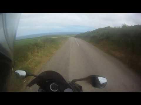Land`s End, UK. Motorbike trip.