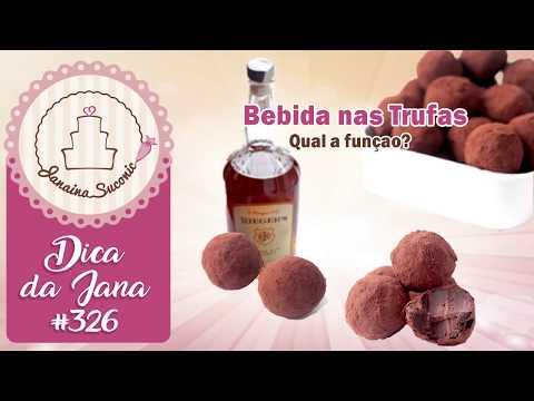 Dica da Jana #326 Bebida na Trufa - Por Janaina Suconic