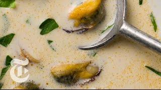 Billi Bi: Craig Claiborne's Mussel Soup Recipe | The New York Times