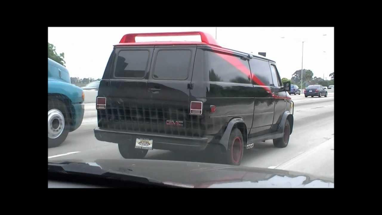 Jims A Team Van In LA