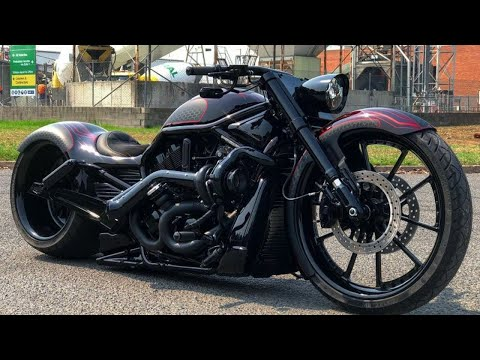 😈 Harley-Davidson® V-Rod Australian Custom By DGD Customs