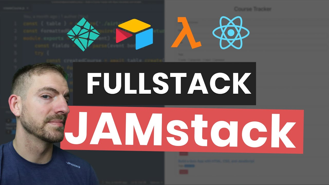 Fullstack Course Tracker with React, Airtable, and Netlify