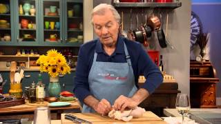 Jacques Pépin Techniques: How To Truss a Chicken for Roasting