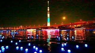 絶景! 東京ホタル&スカイツリー粋ライトアップTOKYO HOTARU FESTIVAL 2012 thumbnail