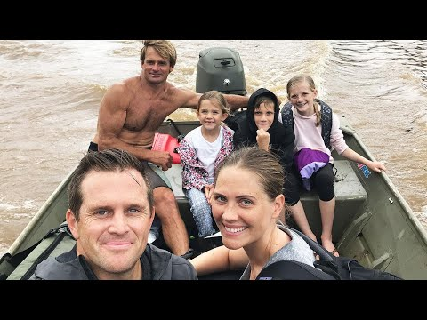Surf Legend Laird Hamilton Rescues Stranded Families After Hawaii Storm