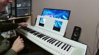 Yamaha NP-12 digital piano review.