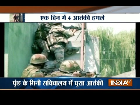 Jammu and Kashmir: Four terrorists died in four separate encounters, One policeman martyr