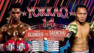 видео: YOKKAO 14: Saenchai PKSaenchai Muay Thai Gym vs Massaro Glunder @yokkaoboxing