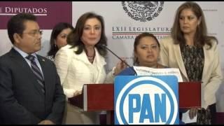 Conferencia de Prensa Dip Beatriz Zavala Peniche 03 04 2014