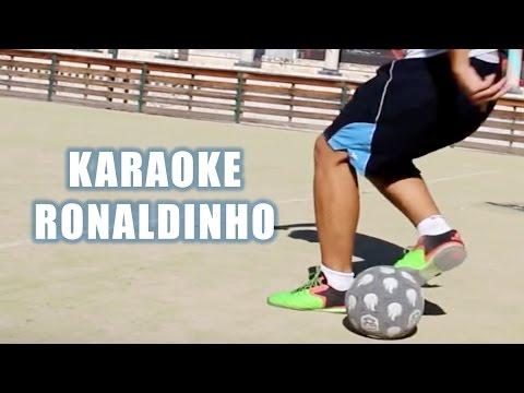 karaoke ronaldinho - Trucos de Futbol/freestyle