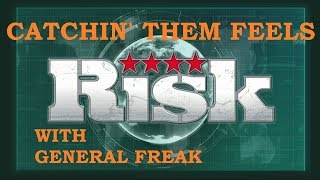 RISK CATCHIN' THEM FEELS XBOX ONE ONLINE GAME COMMENTARY WITH GENERAL FREAK