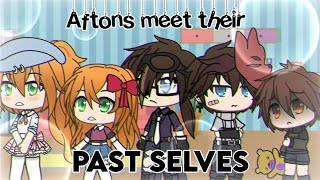 Aftons Meet Their Past Selves | *REMAKE* | Gacha Life | FNAF