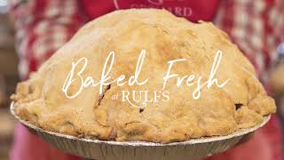 Homemade Pies at Rulfs