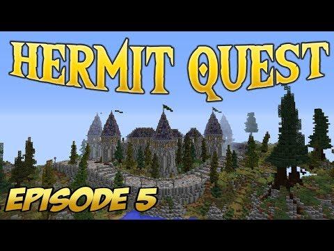 Minecraft HERMIT QUEST - Team Viking reunited! #5