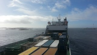 Life as a seafarer at sea: on board on a RoRo Cargo Ship (mv Schieborg)