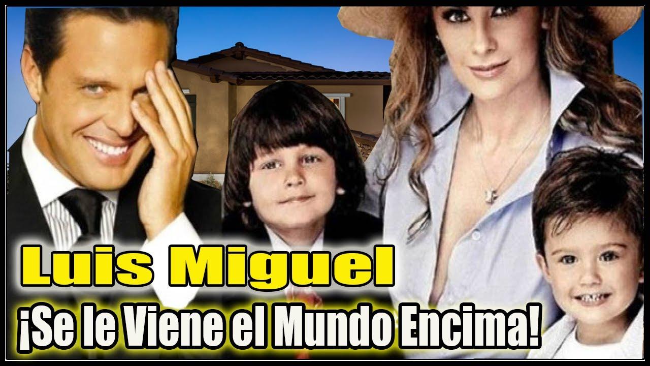 Última Hora! Luís Miguel se Disculpa Trás vivir esta pesadilla en su Familia