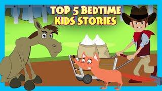 Top 5 Bedtime Kids Stories | Tia and Tofu | New Kids Stories | Stories For Kids | T-Series Kids Hut
