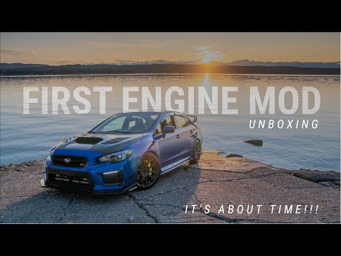 STI GETS IT'S FIRST ENGINE MOD!   MORE POWER WITH PERRIN EL HEADER?   GOODBYE RUMBLE!