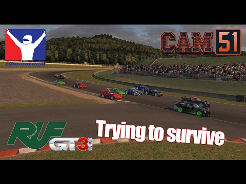 Trying to survive [Ruf GT3 FIXED @ Okayama]