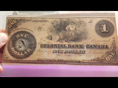Canadian Banknote Collection
