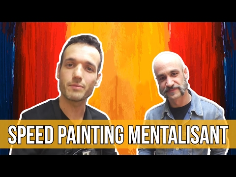 Speed Painting Mentalisant avec Zapata ! - Dessin Deviné - Mental Vlog 35/366