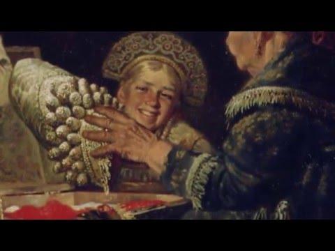19 Бабушкины наряды - Картина русского художника Юрия Сергеева