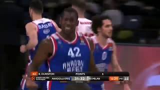 04.04.2019 / Anadolu Efes - AX Armani Exchange Olimpia Milan / Shane Larkin