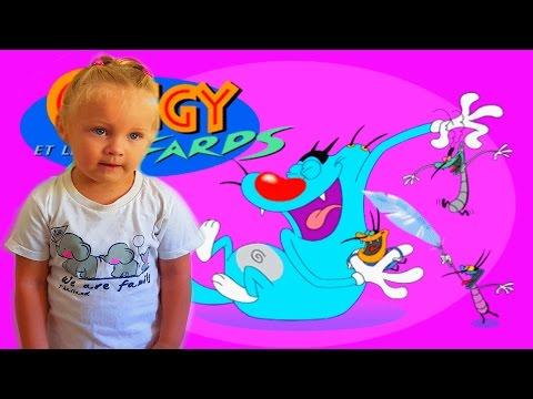 Огги и Кукараччи (тараканы) игры как мультик для детей