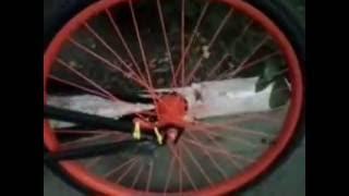 Обзор на мой самодельный  (Custom Bike)  Кастом - велосипед, вело-чеппер часть 1