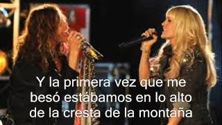 Aerosmith ft. Carrie Underwood -Can't Stop Loving You (Subtitula y traducida al español)