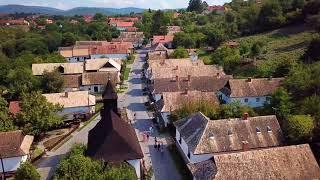 Hollókő Fort/Vár and Village - a UNESCO World Heritage Site - in 4K