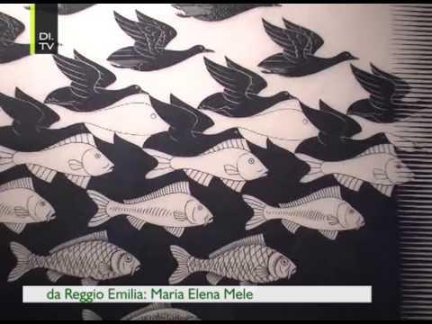 L 39 enigma di escher youtube for Escher metamorfosi