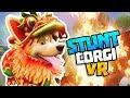 CORGI JUMPS THROUGH BURNING BUILDING! - Stunt Corgi VR Update Gameplay - VR HTC Vive Gameplay