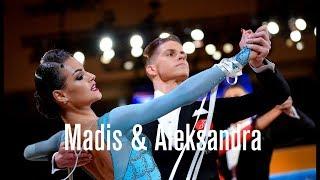 ITV w. Madis Abel - Aleksandra Galkina, EST | 2018 World Cup STD | DanceSport Total