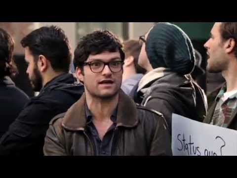 Occupy Wall Street Vs. The iPhone Line