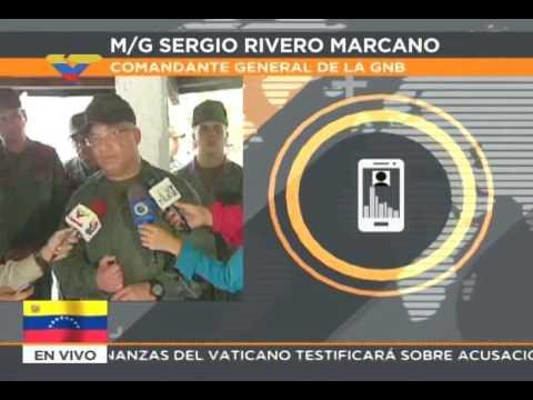 Comandante de la GNB informa sobre poderosa explosión que hiere a 7 en Altamira