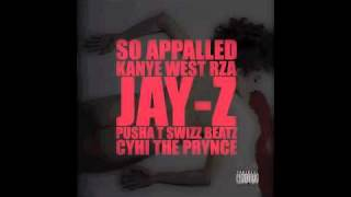 Kanye West - So Appalled ft. Jay-Z,Swizz Beats, RZA, Pusha T, Cyhi The Prynce