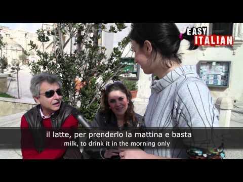 Easy Italian 1 - Cosa ti piace di più mangiare? | Italians favourite food